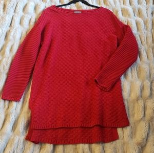 Vince Camuto Red sweater Tunic M